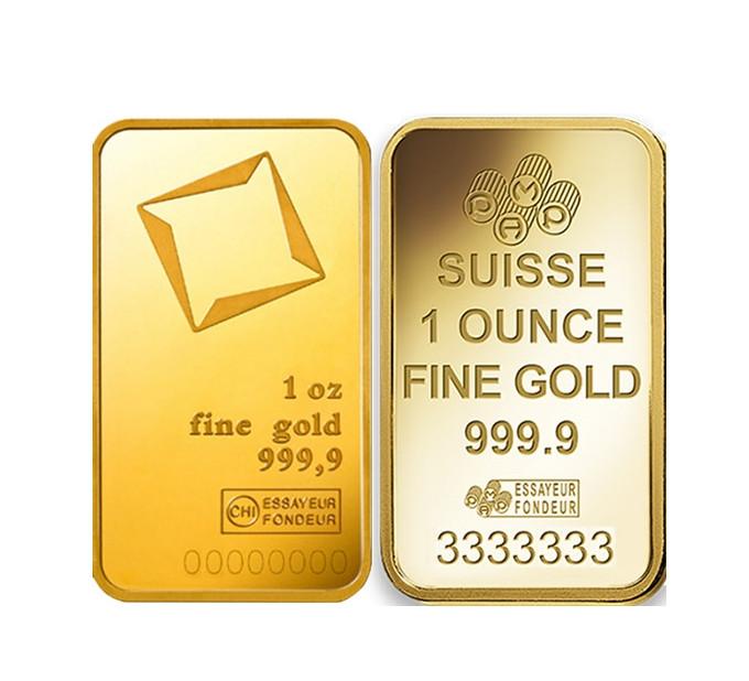 Слиток золота 31,1 (1 тр. унция) БЕЗ УПАКОВКИ