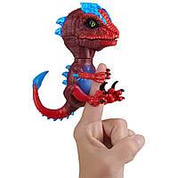 Интерактивный динозавр Раптор Гамма (красный) Wowwee Untamed Radioactive Raptor - Gamma (Red