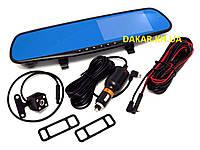 Зеркало видеорегистратор с камерой и монитором Blackbox DVR