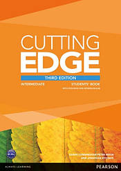 Cutting Edge Third Edition Intermediate Students' Book with DVD-ROM and MyLab Access