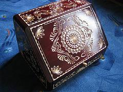 Хлебница резная сувенирная, фото 3