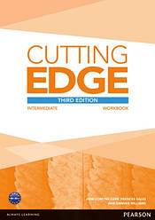 Cutting Edge Third Edition Intermediate Workbook and Online Audio without Key