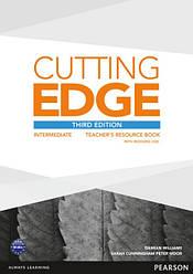 Cutting Edge Third Edition Intermediate Teacher's Book with Resource Disc