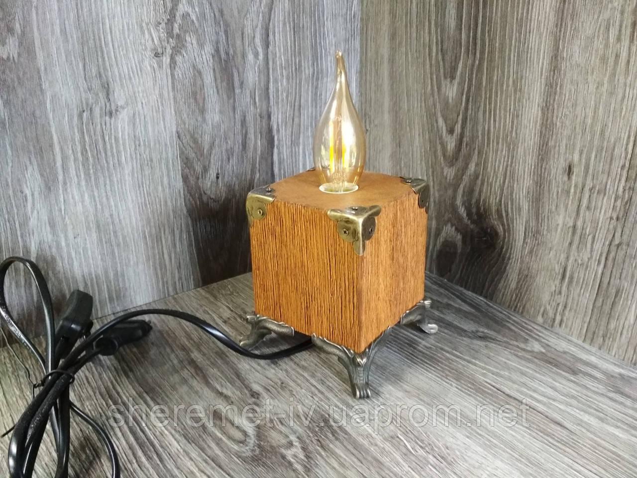 Настольный светильник,  ночник,  светильник ручной работы