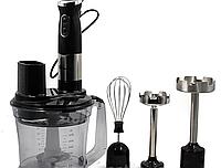 Блендер ручной MS 5107 6 in1, Блендер погружной, Миксер кухонный, Измельчитель с насадкой для пюре