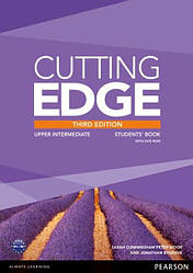 Cutting Edge Third Edition Upper-Intermediate Students' Book with DVD-ROM