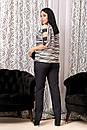 Женский костюм брючный  ДАВд№6442до 62 размера, фото 2