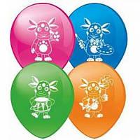 """Воздушный шар """"Лунтик"""" 30 см диаметр"""