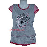 Женская котоновая пижама (р-ры 44-52) оптом со склада в Одессе.