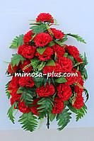 Искусственные цветы - Гвоздика букет