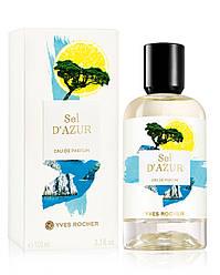 Парфюмированная Вода Sel d'Azur Yves Rocher
