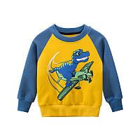 Кофта с динозавром для мальчика 90, 140 рост