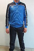 Мужской спортивный костюм Umbro 460213 темно синий с голубым код 309в