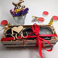 Подарочный набор №17 из 3х баночек крем-меда и крем-мед Рафаэлло подарок на 23 февраля мужчине, коллеге брату