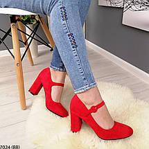 Красные женские туфли, фото 3