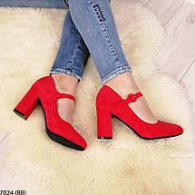 Красные женские туфли, фото 2