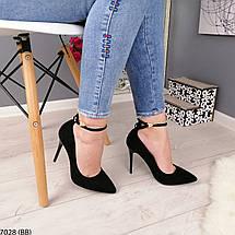 Черные туфли на каблуке, фото 3