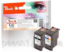 Набор картриджей струйных, 3 х цветный (C,M,Y) и черный (Bk) Canon PG 540XL / CL 541XL  с оригинальным чипом.