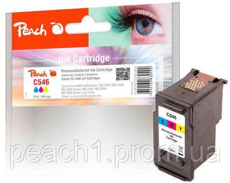 Картридж струйный 3 х цветный (C,M,Y), Canon CL 546, 8289B001 с оригинальным чипом.