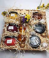 День Учителя подарок идеи - Подарочный набор №18 из 7ми баночек крем-меда и Рафаэлло семейный подарок любимой