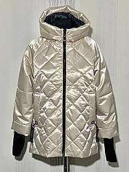 Женская деми куртка Батал, в расцветках, р.48-56