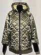 Женская деми куртка Батал, в расцветках, р.48-56, фото 4