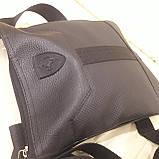 Стильная городская сумка планшет 27 23 8 см, фото 7