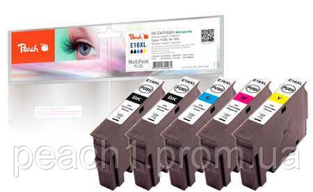 Набор картриджей (MultiPack Plus)(2xBK,C,M,Y) Epson No 16XL c новым чипом