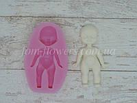 """Силиконовый молд (форма) Fom-flowers для создания Куклы """"Диана"""" 6,5х3,3 см, 1 шт."""