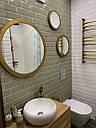 Дзеркальне панно з трьох дзеркал в різьбленій рамі Kolo, фото 2