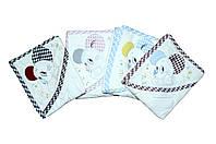 Хлопоковые полотенца. для малчьика и для девочки.  Beby line 9705, фото 1