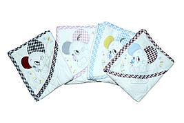 Хлопоковые полотенца. для малчьика и для девочки.  Beby line 9705
