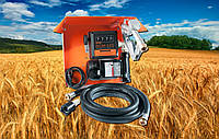 Gamma AC 70 (BIGGA, Украина) — мини заправка для техники дизельным топливом, 220В, 70 л/мин