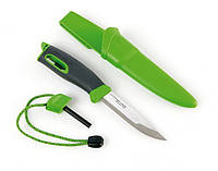 Нож с огнивом LIGHT MY FIRE FireKnife Green 12113310