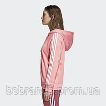 Жіноче худі adidas 3-Stripes Zip DN8150, фото 3