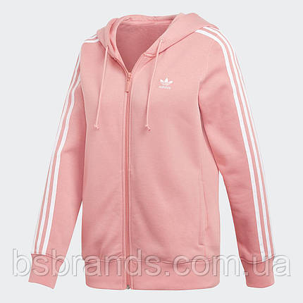 Жіноче худі adidas 3-Stripes Zip DN8150, фото 2