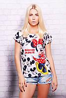 Minnie Mouse футболка Кимоно glam