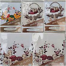 Скатерть на большой стол, праздничная, пасхальная, полиэстер, Польша, 150х220 см