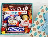 """Подарочный набор сладостей в коробке """"Сладкое Желание"""""""