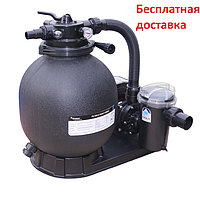 Пісочний фільтр для басейну Emaux FSP390-SD75 (8 м3/год, D400)