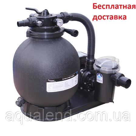 Песочный фильтр для бассейна Emaux FSP390-SD75 (8 м3/ч, D400), фото 2