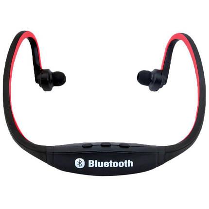 Наушники вакуумные Bluetooth Sport S9, фото 2