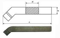 Резец проходной отогнутый 25х16х140 Т5К10 (2102-0005)