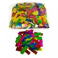 BIG 4108 - мультицветный снег, бумажная нарезка конфети, 1х2,5см