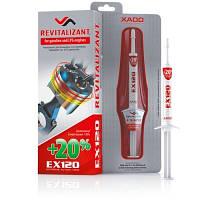 XADO Ревитализант EX120 для бензиновых двигателей шприц, блистер 8 мл
