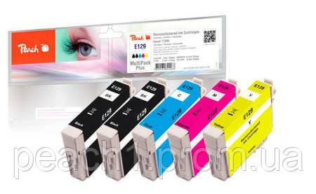 Набор картриджей (MultiPack Plus) (2xBK,C,M,Y) Epson T1295 MultiPack Plus с оригинальным чипом.