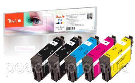 Набір картриджів (MultiPack Plus) (2xBK,C,M,Y) Epson No 16 MultiPack Plus з оригінальним чіпом.