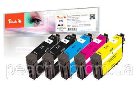 Набор картриджей (MultiPack Plus) (2xBK,C,M,Y) Epson No 29 MultiPack Plus с оригинальным чипом.