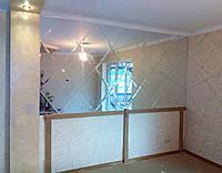 Установка и изготовление зеркальной плитки