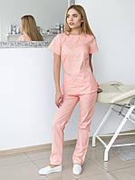 Модный женский медицинский костюм массажиста